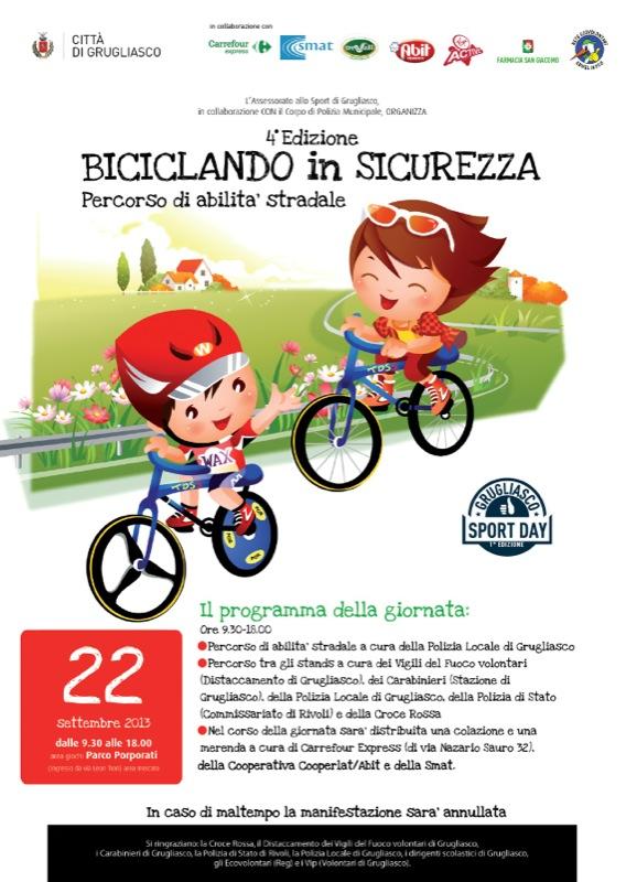Biciclando in sicurezza 22 sett 2013