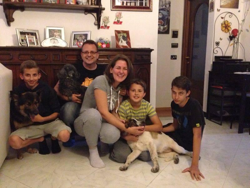 kira dei cuccioli adottata