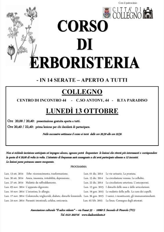 Locandina_corso erboristeria