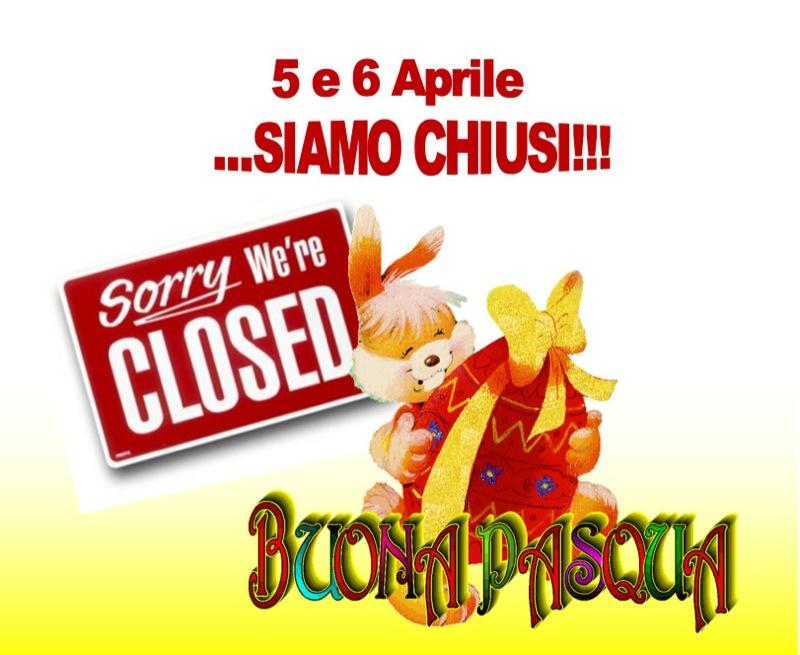 chiusura Pasqua