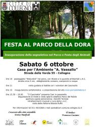 Festa al Parco della Dora 6 ottobre 2018 -  Ci siamo anche noi!!!