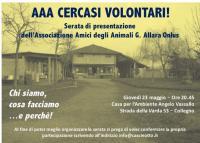 Incontro sul volontariato al Cascinotto, vi aspettiamo!