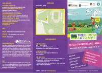 Il Cascinotto alla Tre giorni a 6 zampe: sabato 21 maggio 2016