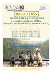 Iscrizioni aperte per la Basic Class! Variazione data!