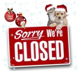 Il Cascinotto chiude al pubblico: il 25, il 26 Dicembre e il 01 Gennaio!