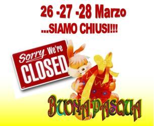 Il Cascinotto chiude al pubblico per il week-end di Pasqua e Pasquetta!