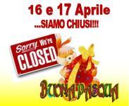 Il Cascinotto chiude al pubblico per Pasqua e Pasquetta!