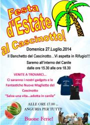 Festa d'Estate al Cascinotto!